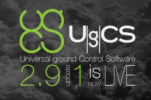 UgCS 2.9 Update 1 Is Now Live