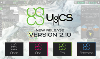 NEW RELEASE! UgCS version 2.10