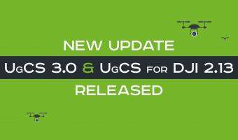 Announcing the release of UgCS v.3.0 and UgCS for DJI v.2.13 update