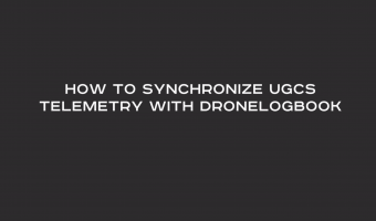 UgCS Telemetry Sync Tool for DroneLogbook.com