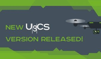 New UgCS drone mission planning software update released