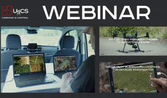Free webinar - Increase drone efficiency for SAR operations with UgCS CC