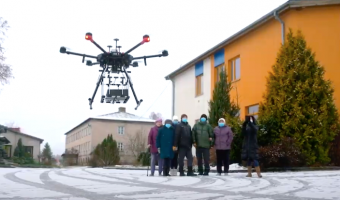 First-ever remote drone delivery completed in Latvia with UgCS