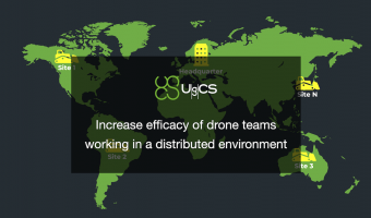 Webinar - UgCS Flight planning and control for large distributed drone-teams