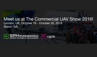 SPH Engineering at The Commercial UAV Show, London