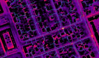 Drone Systems opted for UgCS to map an urban area and inspect district heating