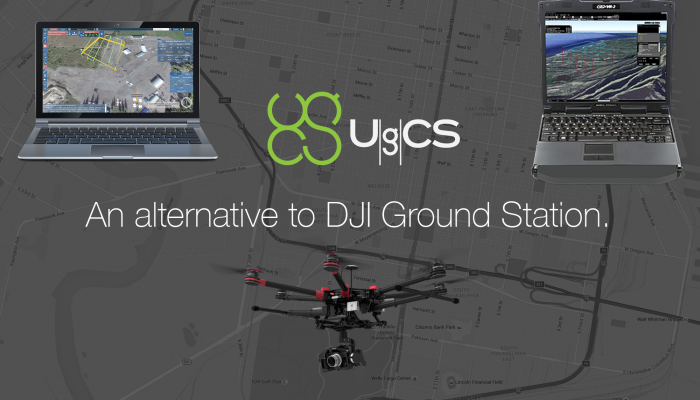 UgCS - an Alternative to DJI Ground Station
