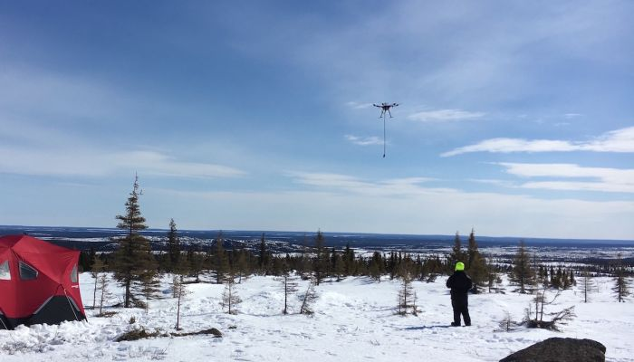 UAV magnetic and other low-altitude survey mission planning with UgCS