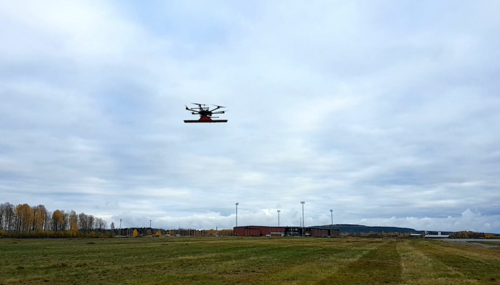 See through the surface of ground, ice or any structure with a drone equipped with GPR