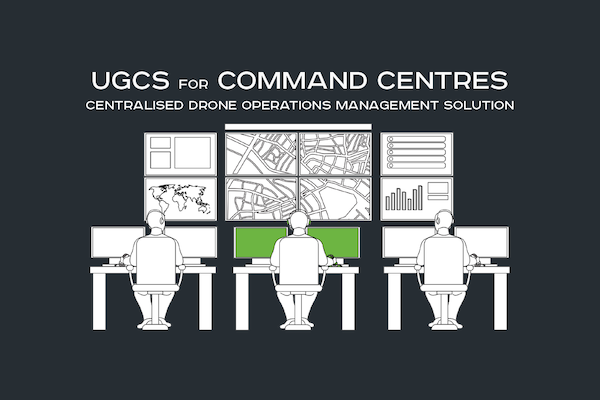 UgCS centralized drone management solution for Command centers