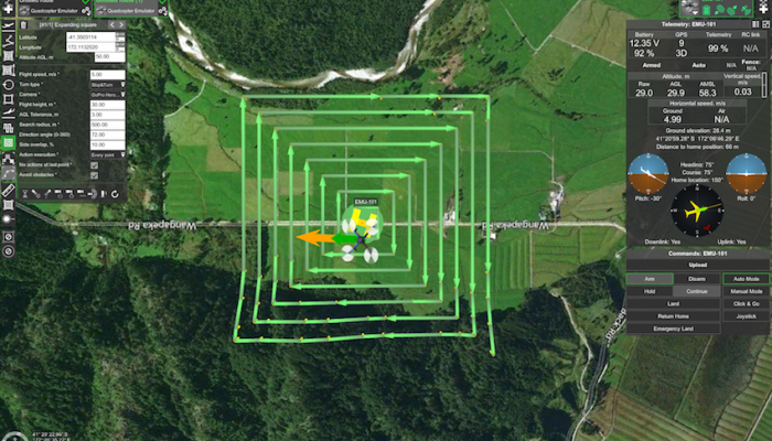 Unveiling new search pattern planning feature for UAS developed in partnership with Airborne Response