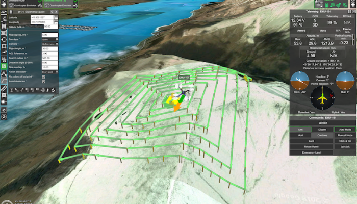 WEBINAR: search pattern planning feature for UAS