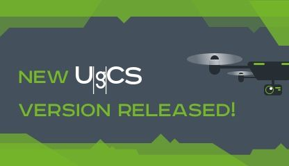 New UgCS drone mission planning software update arrives with exciting features