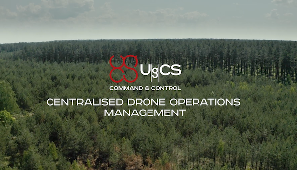 UgCS CC - the centralised drone live operations management solution