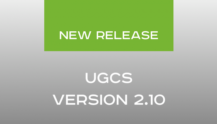 UgCS version 2.10 released