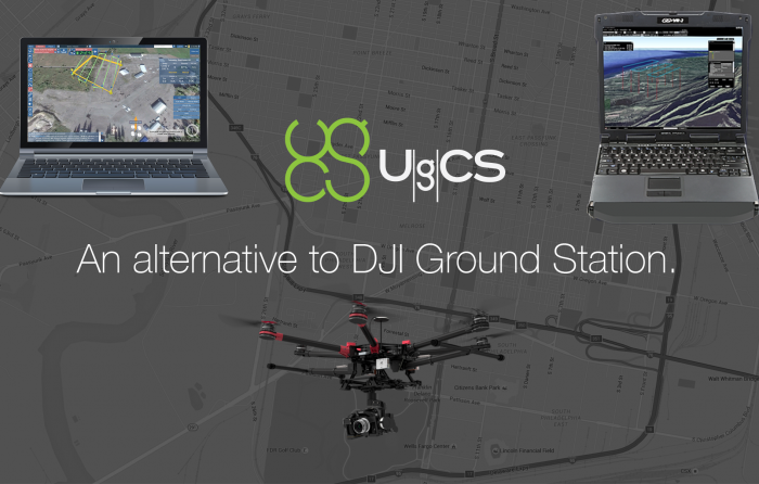 UgCS as an Alternative to DJI Ground Station